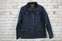 Elveden Blue Wax Jacket size Uk 12 No.U625 18/3