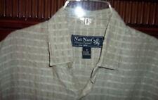 Nat Nast Hip-Hop Men's Shirt M 100% Linen
