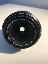 Asahi SMC PENTAX-M Zoom 28-50mm f/3.5-4.5 K/Bayonet Mount Good condition READ