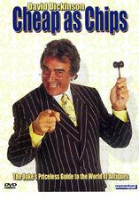 "DAVID DICKINSON €"" CHEAP AS CHIPS - DVD - REGION 2 UK"