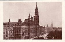 Ak, foto, Viena, mirada del Parlamento en el ayuntamiento, para 1900 (d) 5026-5