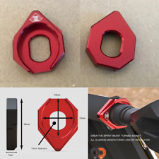 CNC Motorcycle LED Indicator Light Mount Bracket 10mm Grommet Pad Accessories 2x