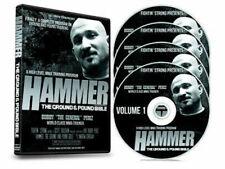 "Hammer The Ground and Pound Bible-Kru Robert ""Bob� Perez 4 Dvd Mma Bjj B561"