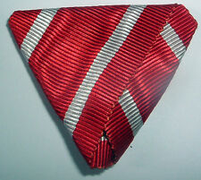 MEDAL RIBBON-GOOD TRIFOLDED RIBBON AUSTRO-HUNGARIAN ORDER OF LEOPOLD 1st