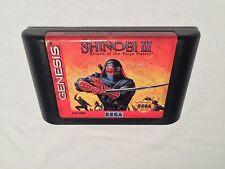 Shinobi III: Return of the Ninja Master (Sega Genesis) Game Cartridge Vr Nice!