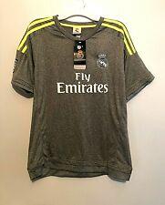 Youths Ronaldo #7 REALMADRID Fly Emirates Soccer Jersey & Shorts Set Size 28