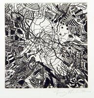 """""""Grand opening"""", 2000. Aquatinta von Franz ACKERMANN (*1963 D), handsigniert"""