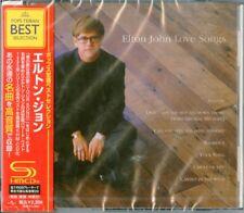 ELTON JOHN-LOVE SONGS-JAPAN SHM-CD E50