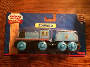 Edward Engine & Tender for the Thomas Wooden Railway System New in Sealed Pkg.