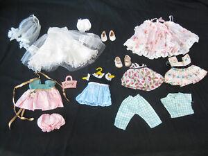 Vogue Ginny Bridal Trousseau 1957-58 tagged Vogue 6 dresses shoes more 1 is RARE