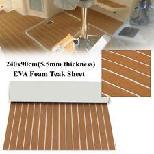 2.4M EVA Suelo Piso de Teca Espuma para Barcos Yate Boat Foam Floor Teak Decking