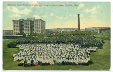 National Cash Register Co Employees Dayton Ohio 1910c postcard