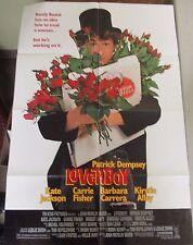 VTG 1 sheet 27x41 Movie Poster Loverboy 1989 Patrick Dempsey Kirstie Alley
