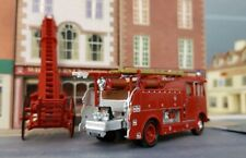 1963 Dennis F106 Fire Tender London Brigade Engine Model 1:76 OO/00 Scale Oxford