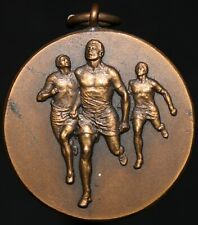 More details for vintage sports 'running' 'xxxvii india' medal | medals | km coins