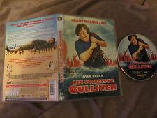 Les voyages de Gulliver de Rob Letterman avec Jack Black, DVD, Comédie