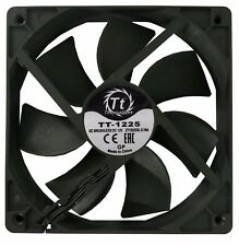 THERMALTAKE TT-1225 120MM 12CM 3 PIN HIGH PERFORMANCE COOLING FAN BLACK OEM