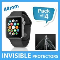 Apple Watch 44MM Screen Protector INVISIBLE Military Grade Shield - PACK OF 4