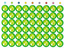 54 Sticker Like Green Sticker Motivation Gefühle SHEETS CRAFTING OK ✔️