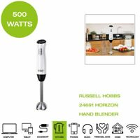 *Brand New* Russell Hobbs 24691 Horizon Hand Blender, 500W - Black/White