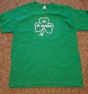 Kansas city chiefs St Patrick Mahomes tshirt. St Patricks day shirt.