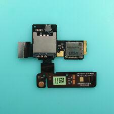 SIM Socket TF Card Holder Slot Flex Cable Ribbon For HTC One V T320e Primo G24