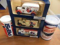 LLEDO DG44017 LP51-17 DG59007 DG63021 DG73003 Pepsi Cola diecast model cars