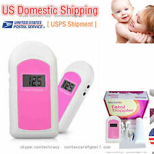 US Fetal Doppler LCD Ultrasound Prenatal Detector Fetal Baby Heart Rate Monitor