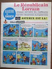 LE REPUBLICAIN LORRAIN ILLUSTRE DU DIMANCHE 6 UDERZO GREG MORRIS GRATON... 1967