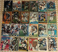 Tshimanga Biakabutuka 24 Card Lot All Different See Scans NFL Football