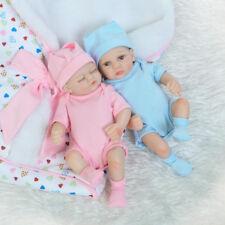 NPK Lifelike Reborn Baby Girl Doll Handmade Vinyl Newborn Dolls Pink ∞