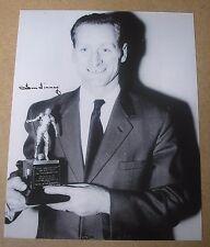 SIR TOM FINNEY England & Preston GENUINE Hand SIGNED 10x8 Photo + COA Proof