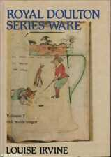 Louise Irvine ROYAL DOULTON SERIES WARE VOL. 2 1st Ed. SIGNED HC Book