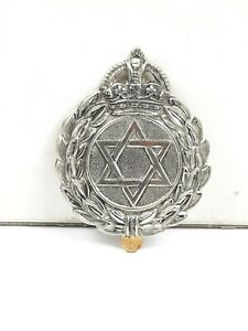 Vintage J.R. Gaunt Star of David Lapel Pin Clip Badge ORIGINAL Cast Metal ORIG
