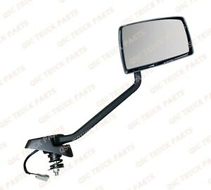 QSC Replacement Chrome Hood Mirror Right Passenger Side for Mack Anthem