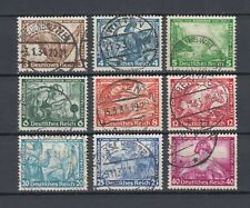 1933 WWII Third Reich Wagner Full Set  Used Mi 499/507
