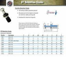 Techniks BT30 Retention Knob 17801 Solid Pull Stud 45 degree 10 Pcs
