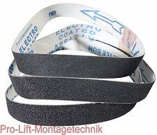 3x Schleifband : Körnung 60 , 80 , 120 20mm Breite für ABS20BSJ , 02039 , 12345