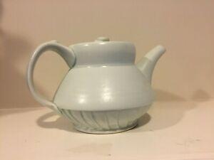 Rare Beautiful Studio Ceramic Teapot - By Important Artisan Mary Louise Carter