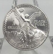 1983 Mexican Libertad 1 ounce .999 Silver Coin Choice BU