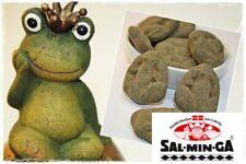 150g. Salminga Lakritz-Frösche ~ Starklakritz mit Salmiakpulver überzogen