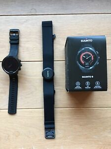 Suunto 9 Gen1 Baro  Black  GPS -Spurtuhr mit langer Batterielaufzeit
