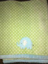 Vintage 30x45 Carter/'s Hide /& Seek Bunny Bear Minky Plush Baby Comforter Blanket