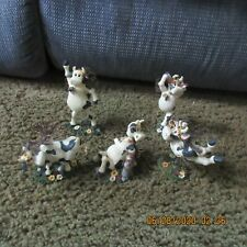 5 Boyd Bears Holy Cow Figurines
