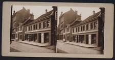 Stereofotografie um 1910 - 59174 KAMEN Westfalen - Bahnhofstr. 5 - Buchhändler