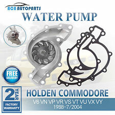 For Holden Commodore Water Pump V6  VN VP VR 88-7/04 VS VT VU VX VY 3.8L+Gasket