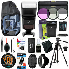 Canon EOS T6i T6s / 750D 760D Camera Everything You Need Accessory Kit 58MM