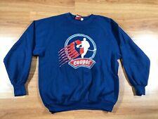 Vintage 1980s' Cooper Hockey Equipment Pullover Sweatshirt Medium Canada