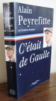 C'était De Gaulle, tome 1 de Alain Peyrefitte | Livre | d'occasion