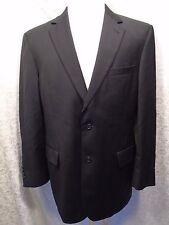JOS. A. BANK Men's Black 2 Button Sport Coat/Jacket/Blazer Dress Suit